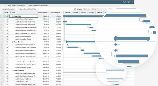 Robust reporting and analytics allows you to analyze portfolio and project performance for better decision-making.