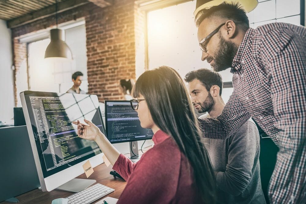 Agile teams deliver working, tested software every two weeks.