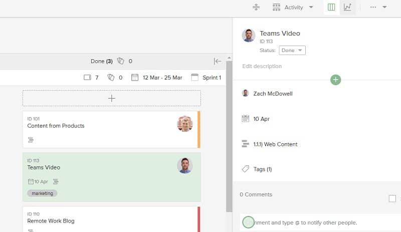 Project management tips 1-100: Communicate, communicate, communicate. Online project boards help by keeping everyone on the same page.