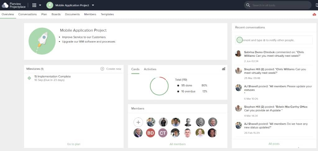 Stay up to date on projects, allocate workload appropriately, and get the reporting you need with project management software.