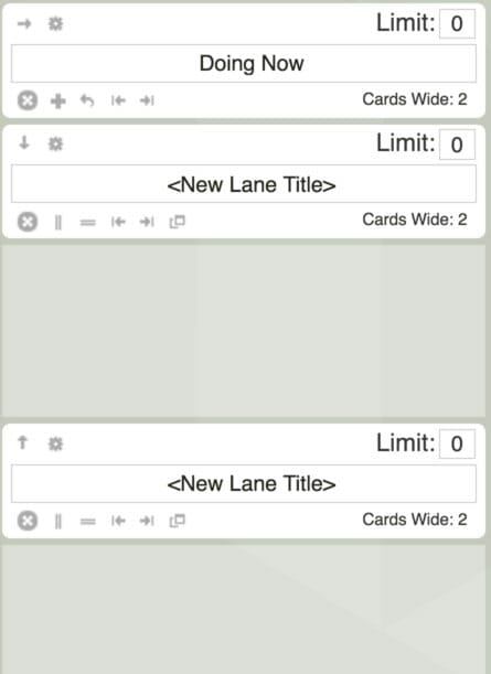 Here is an example of a horizontal swimlane. If you want to add another horizontal swimlane under
